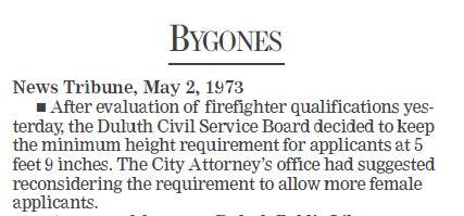 BYGONES  - May 2, 1973